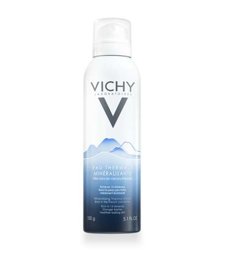 Volcanic Facial Mists - Vichy's Facial Spray Nourishes Skin with Mineral-Rich Thermal Water