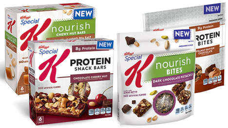 Cereal-Inspired Energy Bites - The New Special K Protein Bites are Rich in Protein