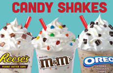 Candy-Infused Milkshakes