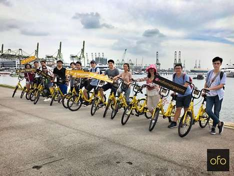 Stationless Bike-Sharing Companies - The Ofo Bike-Sharing Firm has Expanded with Thousands of Bikes