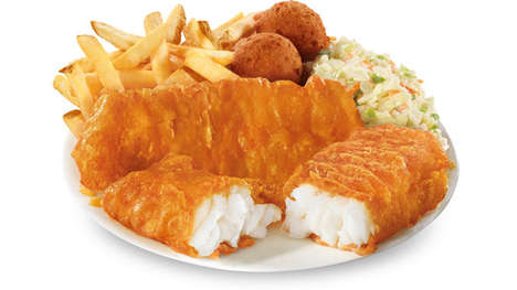 Beer Battered Fish Filets - Long John Silver's is Now Serving Up Booze-Infused Alaskan Cod