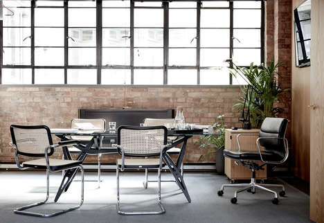 Refurbished Metalwork Shops - Studio Four23's New Office is Inspired by a Toolbox