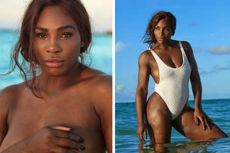 Sultry Tennis Star Editorials - The New Sports Illustrated Cover Features the Iconic Serena Williams