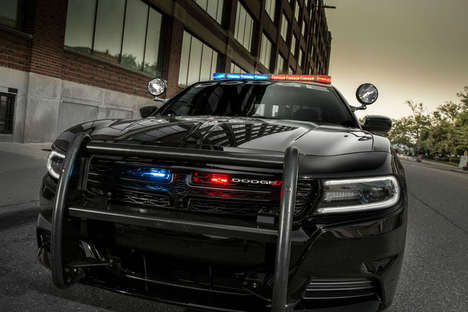 Alert Police Vehicles - Dodge Charger Pursuit Vehicles Come with the Officer Protection Package