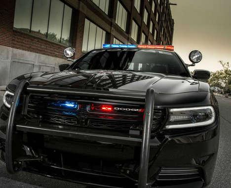 Alert Police Vehicles