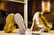 Celebratory All-Gold Sneakers - These Gold Air Jordan 31s Commemorate All-Star Weekend