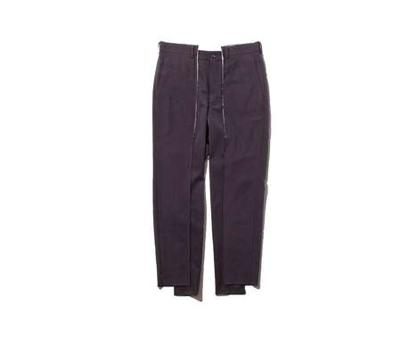 Classic Deconstructed Trousers