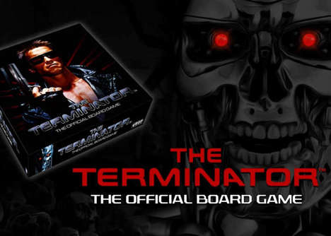 Robot Apocalypse Board Games - The Terminator Official Board Game Revives the Movie Franchise