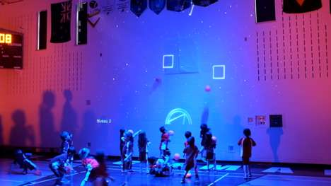 Augmented Reality Gym Classes - The SAGA Interactive Gym is Being Used in Quebec Schools