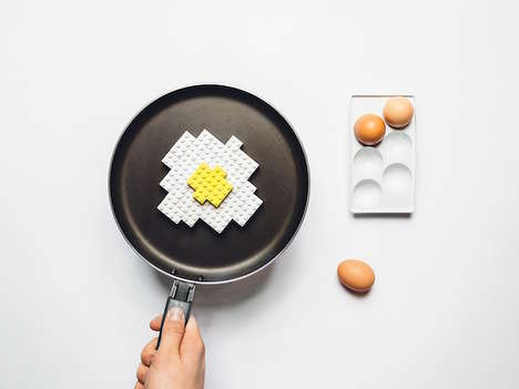 LEGO Meal Recreations - Michael Kulesza Transformed Popular Food into Toy Block Representations
