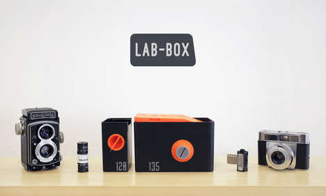 DIY Daylight Film Developers - LAB-BOX Reduces the Cost of Taking Photographs with Film