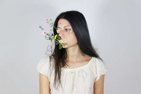 Inner Thought Process Photography - Chiara Mazzocchi Represents Her Subjects' Personal Battles