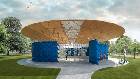 Tree-Inspired Pavilion Designs - The 2017 Serpentine Pavilion was Designed by Diebedo Francis Kere