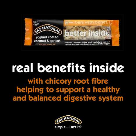Digestion-Aiding Snack Bars - Eat Natural's 'Bars with Benefits' Promote the Growth of Good Bacteria