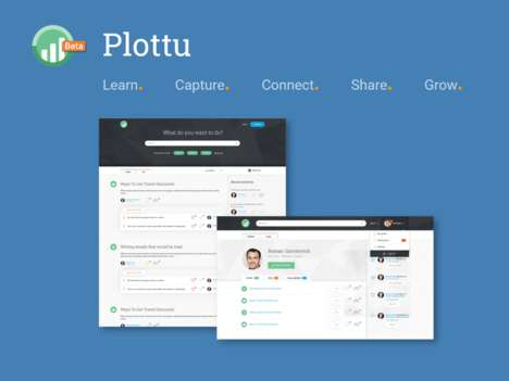 Digital Professional Knowledge Platforms - 'Plottu' Lets Users Share Their Knowledge and Tips