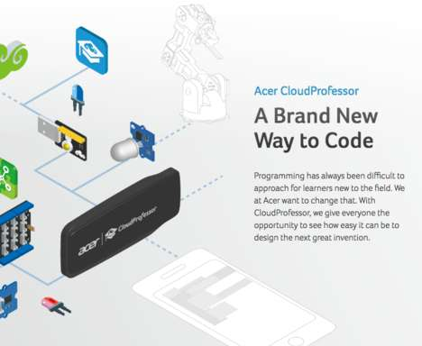 IoT Starter Sets - Acer's CloudProfessor Empowers Young Innovators in the Internet of Things Era