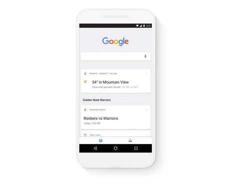 Streamlined Search Apps - Google's App Update Was Designed to Enhance Its Traffic