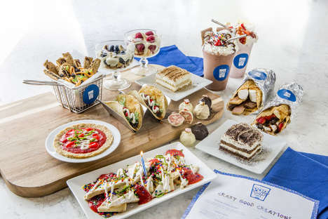 Toaster Pastry Cafes - Kellogg's 'Pop-Tart Cafe' Reimagines the Pastry as Pizza, Tacos and More