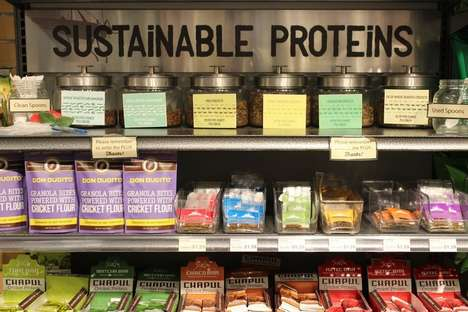 Alternative Protein Collections - MOM's Organic Market Offers Sauces and Chips Made with Insects