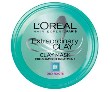 Clay Hair Masks - L'Oreal's Pre-Shampoo Mask Absorbs Excess Oil from Roots