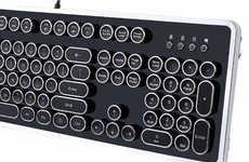 Mechanical Typewriter PC Keyboards