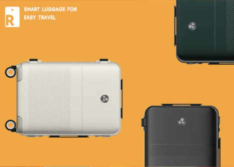 Connected Travel Luggage - The 'Ready' Smart Carry-On Baggage Has a Scale, Charger and More