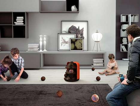 Toy-Inspired Vacuum Cleaner Systems - The 'Papaya' Consists of Mini Vacuum Cleaner Spheres