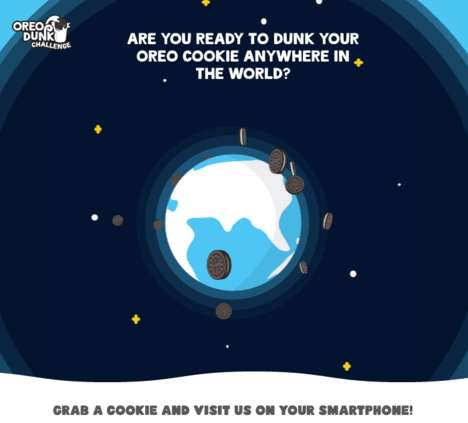 Digital Cooking-Dunking Challenges - Google and OREO Joined to Create Unique Way to Do an OREO Dunk