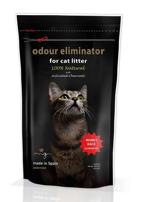 Charcoal-Based Cat Litters - This Litter Box Deodorizer Uses Natural Ingredients to Eliminate Smells