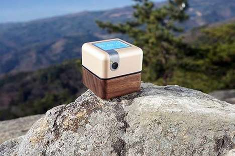 Portable Robotic Assistants - The 'PLEN Cube' Personal Assistant Robot is Multifunctional