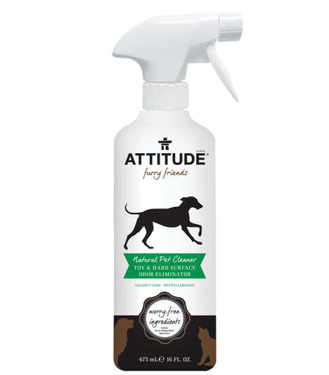 Vegan Dog Toy Sprays - ATTITUDE's Natural Toy & Hard Surface Cleaner Boasts a Tropical Scent