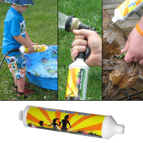 Outdoor Water Source Filters - This Garden Hose Filter Removes Chlorine and Contaminants from Water