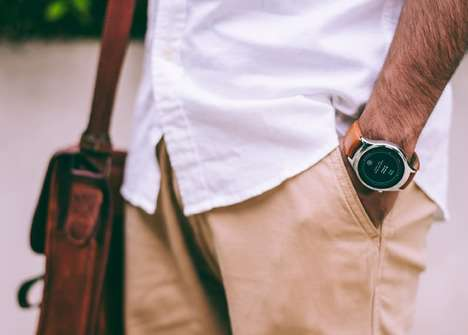 Standalone Smartwatch Designs - The 'BLINK' Smartwatch Wearable Runs the Custom-Tailored Marvin OS