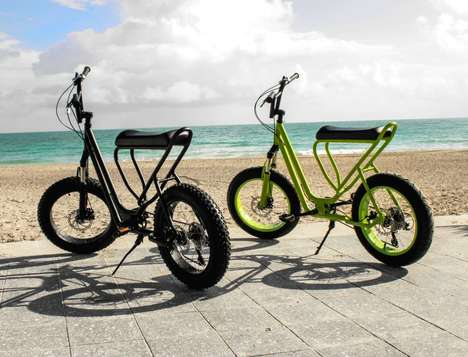 Scooter-Inspired Bicycles - The Monkey Faction 'Capuchin' Scooter Bike is Conveniently Designed