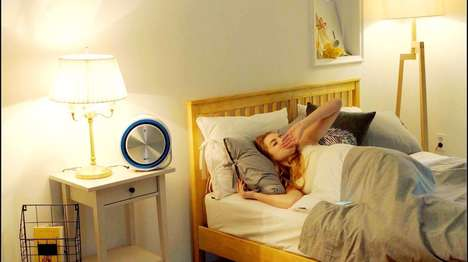 Sleep-Enhancing Air Purifiers - The 'CLAIR-S' Enables Better Sleep Through Air Quality and Sound