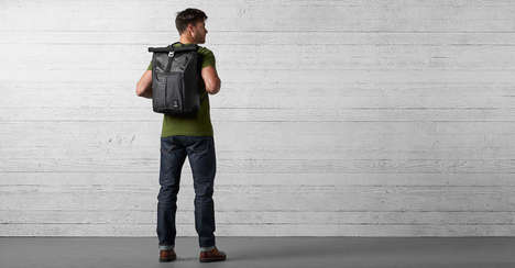 Abrasion-Resistant Commuter Knapsacks - The Night Yalta 2.0 Waterproof Backpacks are Rugged