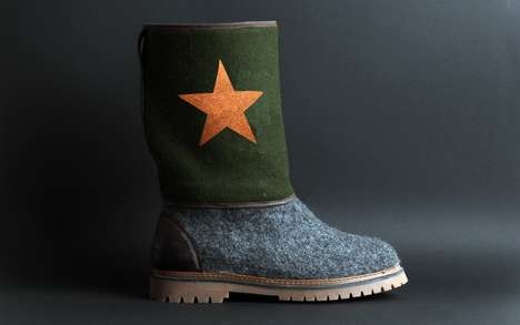 Traditionally Crafted Wool Boots - The Baabuk Boots are Warm and Durable