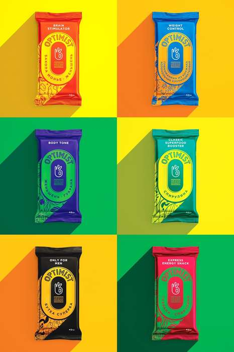 Function-Driven Energy Bars - Each of Optimist's Energy Bar Snacks Serves a Distinct Purpose