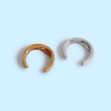 Sensuous Textured Rings - Liud Rings Come with Richly Textured Interiors