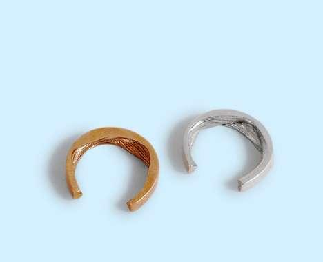 Sensuous Textured Rings