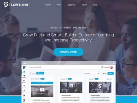 Educational Business Platforms - 'Teamfluent' Helps Improve Business Performance Through Learning