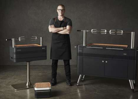Celebrity Chef Barbecues - The 'Everdure' Charcoal Barbecues are Chef Heston Blumenthal-Approved