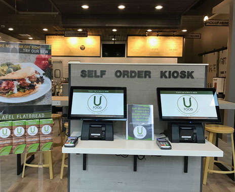 Face-Based QSR Ordering - UFood Grill is Using Facial Recognition to Speed Up Orders