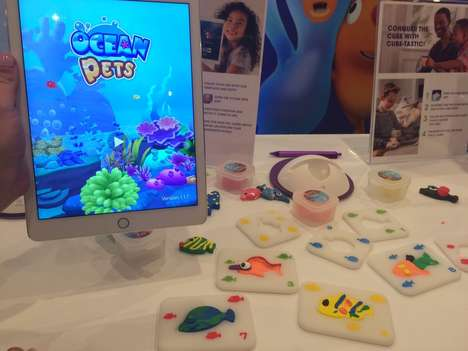 AR Aquarium Toys - Pai Technology's 'Ocean Pets' is a Unique Virtual Aquarium for Kids