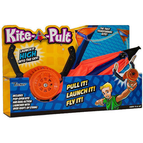 Self-Launching Kites - These Kite Toys Make It Easier to Send a Kite Flying into the Sky
