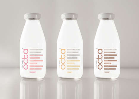 Nutritionally Complete Drink Supplements - The 'Octa' Supplement Drinks are Packed with Nutrients