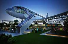 Converted Airplane Eateries