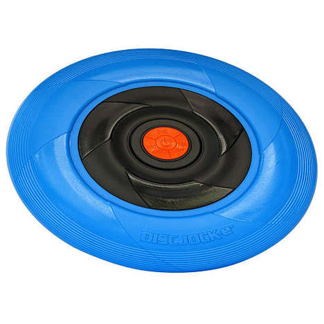 Musical Flying Disks - The Disc Jock-e is an Outdoor Toy That Boasts Bluetooth Connectivity