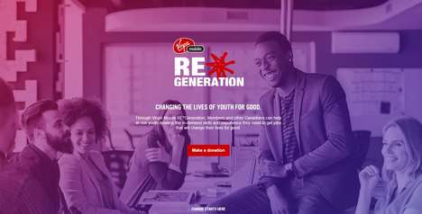 Charitable Rewards Initiatives - Virgin Mobile's REGeneration Program Raises Funds for a Good Cause