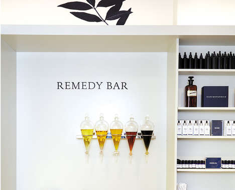 In-Store Apothecary Bars